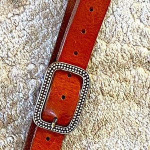 American Eagle outfitters leather belt rhinestones